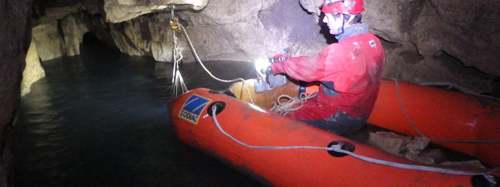 Plongée souterraine à la Roche-Ruffin le 1 mai 2018
