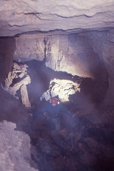 exploration spéléologie rivière souterraine lavoir de sainte néomaye fontcreuse deux sèvres